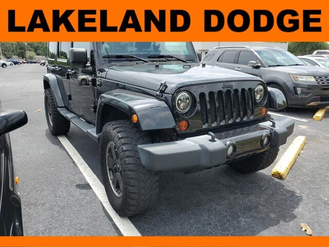 2012 Jeep Wrangler Unlimited Altitude 4WD