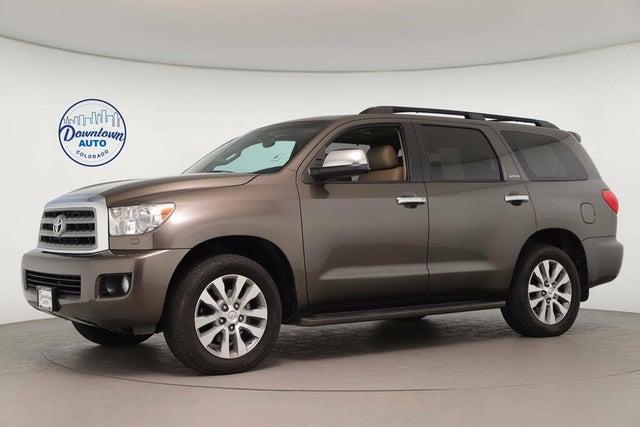 2016 Toyota Sequoia Limited FFV 4WD