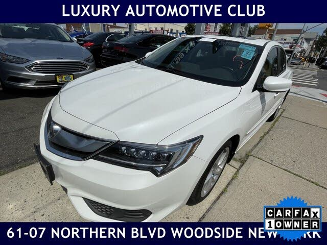 2018 Acura ILX FWD with Technology Plus Package
