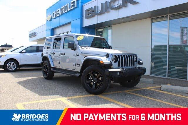 2021 Jeep Wrangler Unlimited Sahara Altitude 4WD