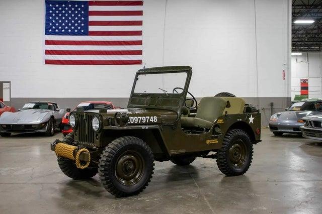 1952 Willys Jeep Wagon RWD