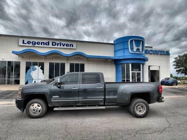 2019 Chevrolet Silverado 3500HD High Country Crew Cab 4WD