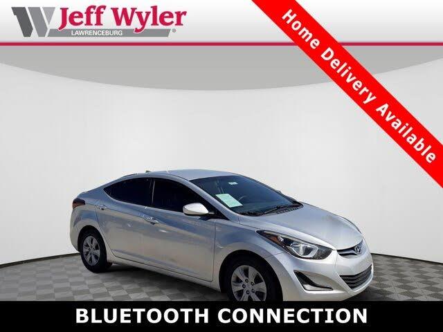 2016 Hyundai Elantra SE Sedan FWD