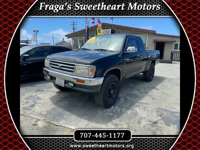 1996 Toyota T100 2 Dr SR5 4WD Extended Cab SB