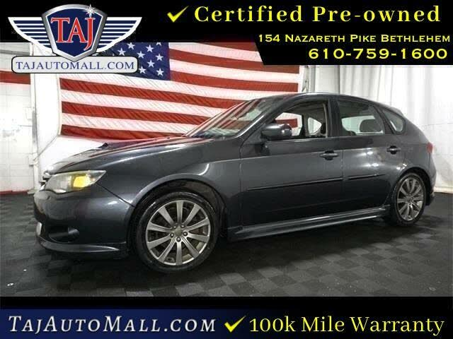 2010 Subaru Impreza WRX Premium Package Hatchback