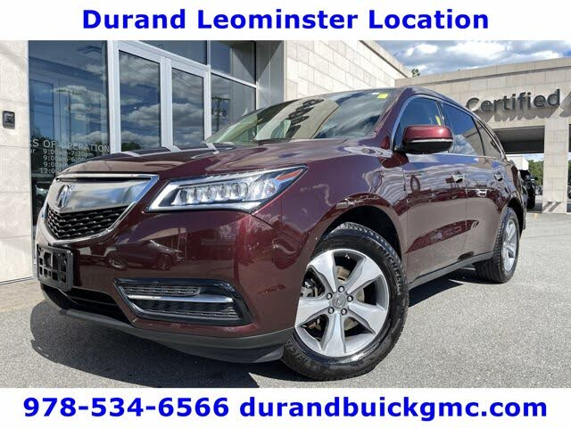 2016 Acura MDX SH-AWD with AcuraWatch Plus Package