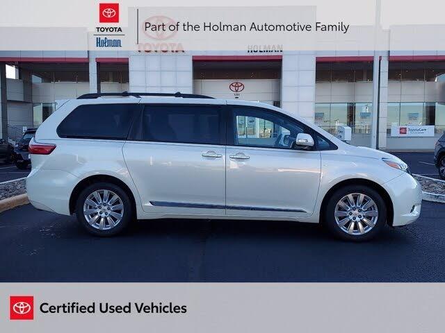 2017 Toyota Sienna Limited Premium 7-Passenger AWD