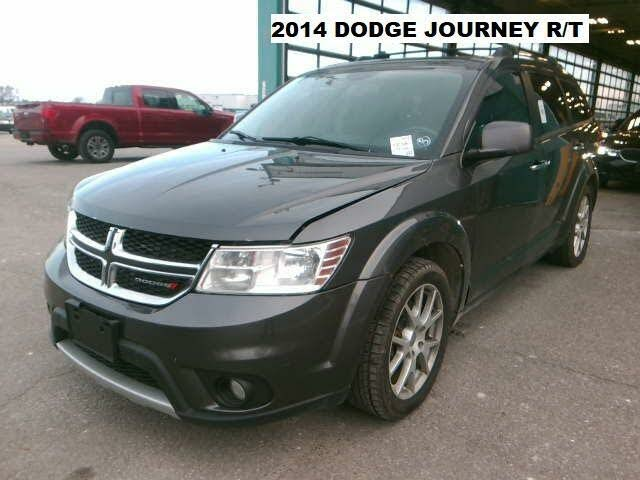 2014 Dodge Journey R/T Rallye AWD