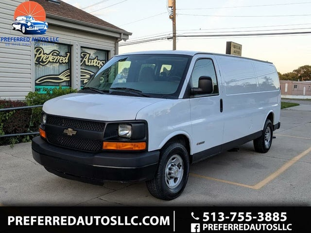2006 Chevrolet Express Cargo 3500 Extended RWD