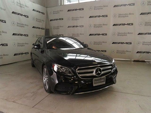 2019 Mercedes-Benz E-Class E 450 4MATIC Sedan AWD