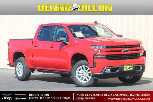 2021 Chevrolet Silverado 1500 RST Crew Cab 4WD