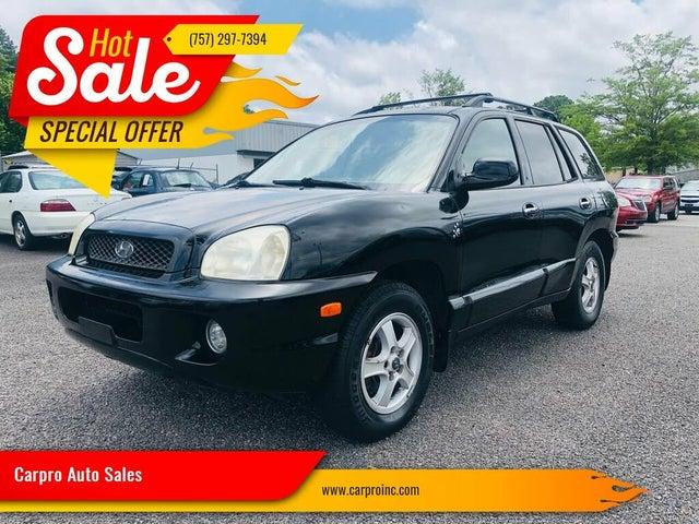 2003 Hyundai Santa Fe LX AWD