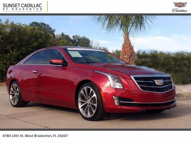 2016 Cadillac ATS Coupe 3.6L Performance RWD