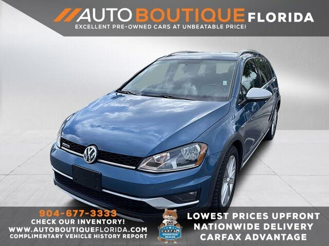 2017 Volkswagen Golf Alltrack S 4Motion AWD