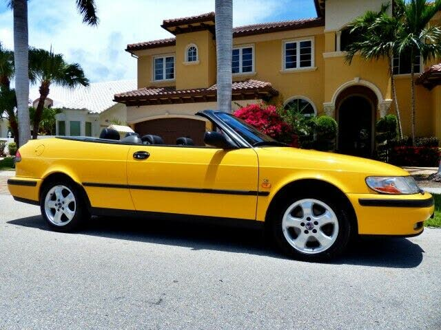 1999 Saab 9-3 2 Dr SE HO Turbo Convertible