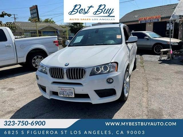 2012 BMW X3 xDrive35i AWD