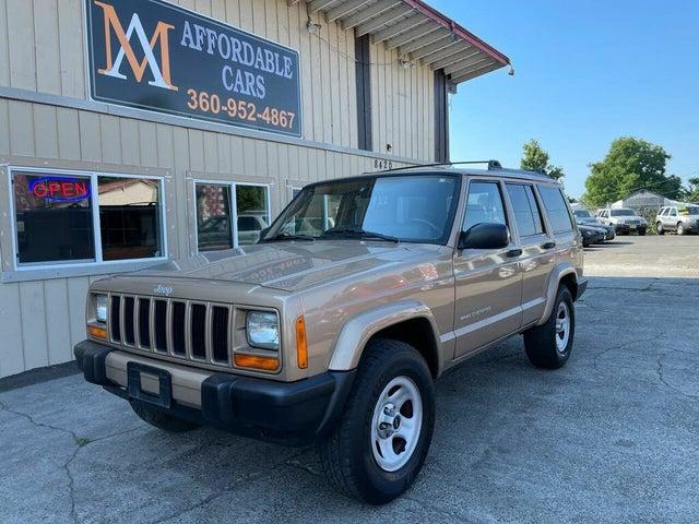 2000 Jeep Cherokee Sport 4-Door RWD