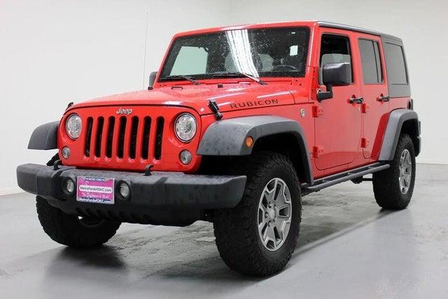 2017 Jeep Wrangler Unlimited Rubicon 4WD