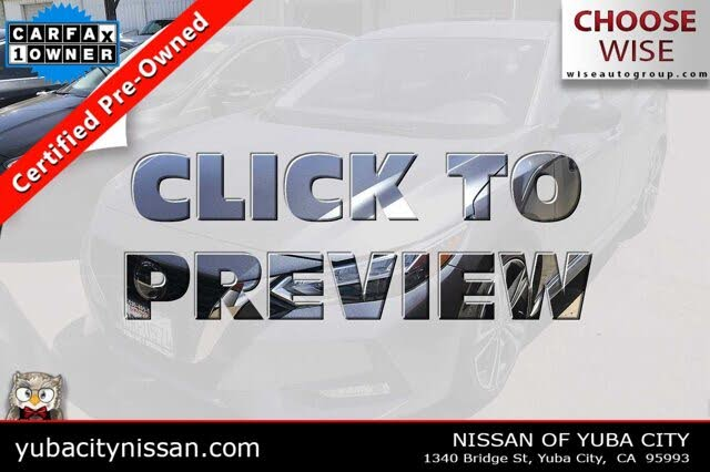 2020 Nissan Sentra SR FWD