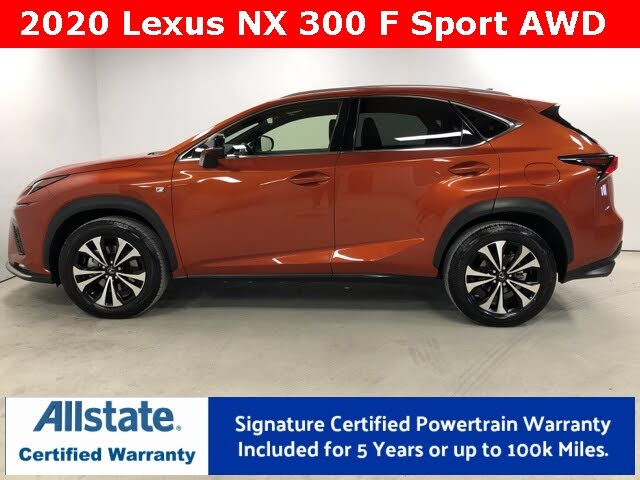 2020 Lexus NX 300 F Sport AWD