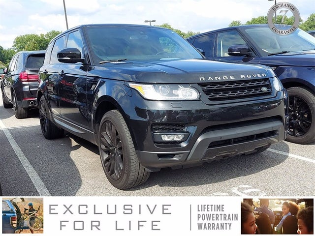 2015 Land Rover Range Rover Sport V8 Supercharged 4WD