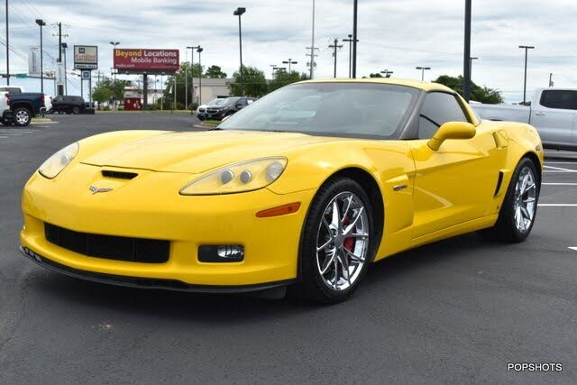 2008 Chevrolet Corvette Z06 Coupe RWD