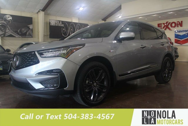 2021 Acura RDX FWD with A-Spec Package
