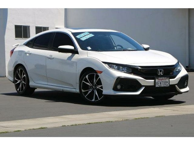 2018 Honda Civic Si with Summer Tires