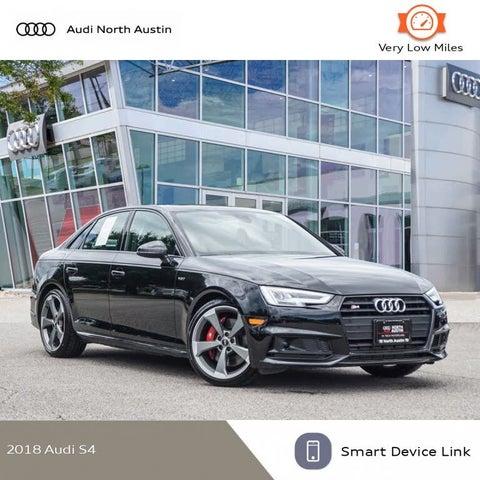 2018 Audi S4 3.0T quattro Prestige Sedan AWD