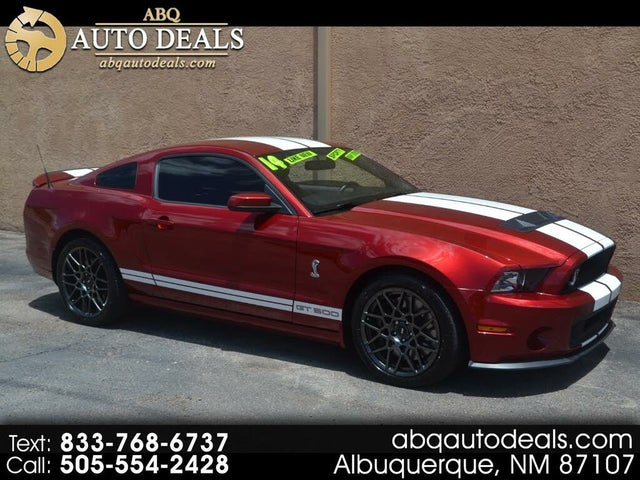 2014 Ford Mustang Shelby GT500 Coupe RWD