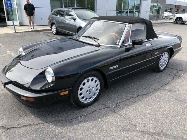 1989 Alfa Romeo Spider Quadrifoglio RWD