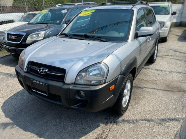 2005 Hyundai Tucson LX 4WD