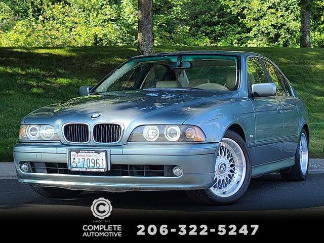 2001 BMW 5 Series 525i Sedan RWD