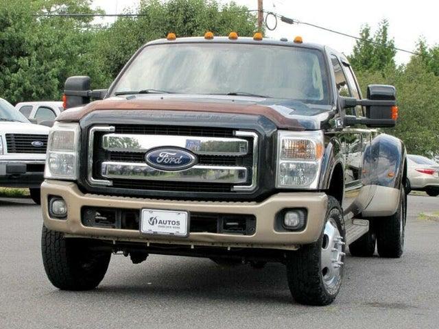2012 Ford F-350 Super Duty King Ranch Crew Cab LB DRW 4WD
