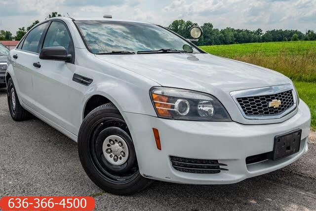 2013 Chevrolet Caprice Police Sedan RWD
