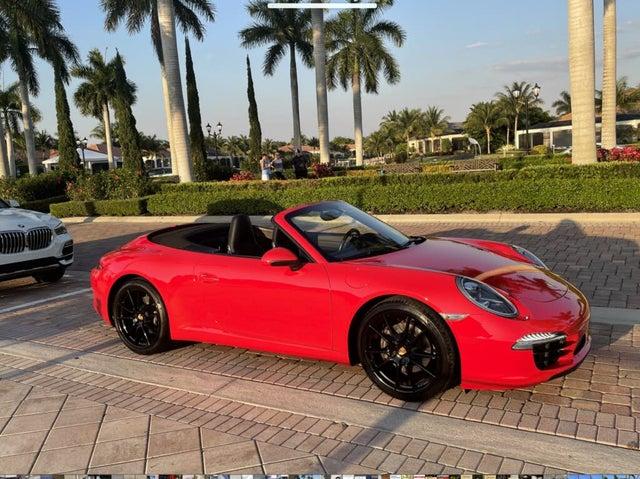 2014 Porsche 911 Carrera Cabriolet RWD