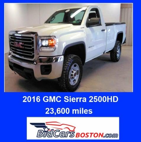 2016 GMC Sierra 2500HD Base LB 4WD