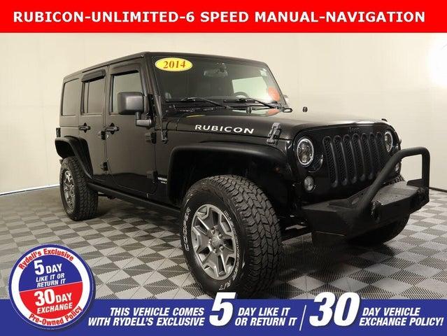 2014 Jeep Wrangler Unlimited Rubicon 4WD