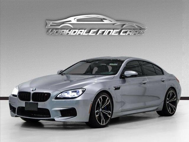 2018 BMW M6 Gran Coupe RWD
