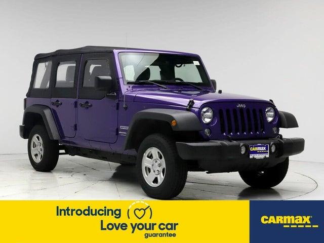 2018 Jeep Wrangler Unlimited JK Sport 4WD