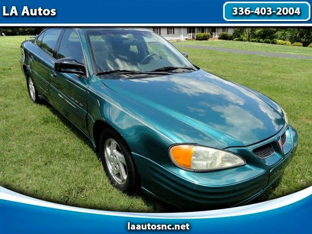 1999 Pontiac Grand Am 4 Dr SE1 Sedan