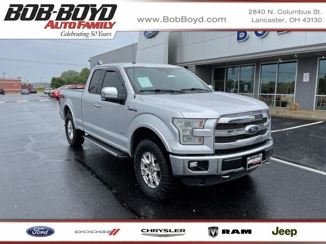 2016 Ford F-150 Lariat SuperCab 4WD