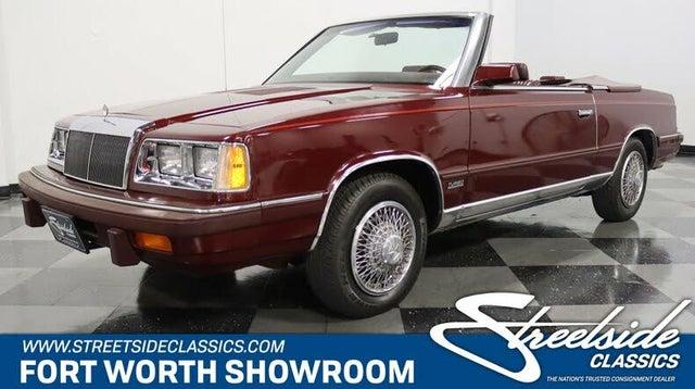 1986 Chrysler Le Baron Base Convertible