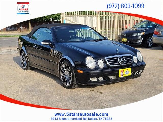 2001 Mercedes-Benz CLK-Class CLK 320 Cabriolet
