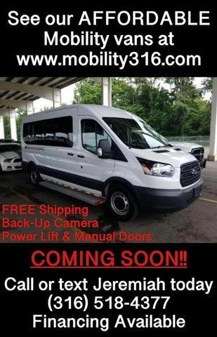 2017 Ford Transit Passenger 350 XL Medium Roof LWB RWD with Sliding Passenger-Side Door