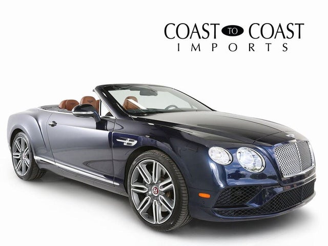 2016 Bentley Continental GTC V8 AWD