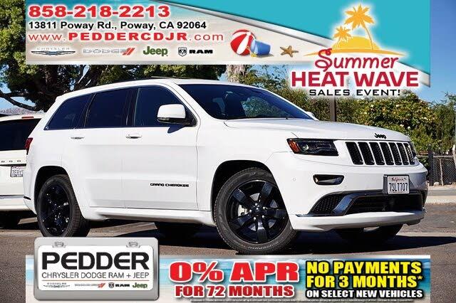2016 Jeep Grand Cherokee High Altitude