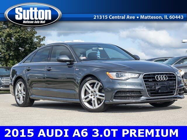 2015 Audi A6 3.0T quattro Premium Plus Sedan AWD