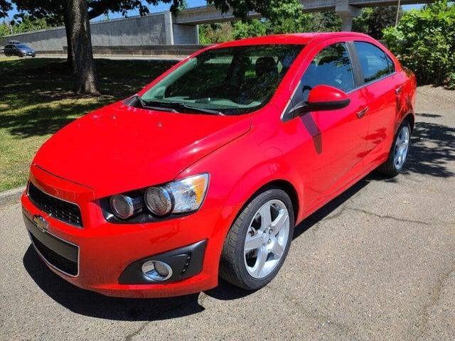 2015 Chevrolet Sonic LTZ Sedan FWD