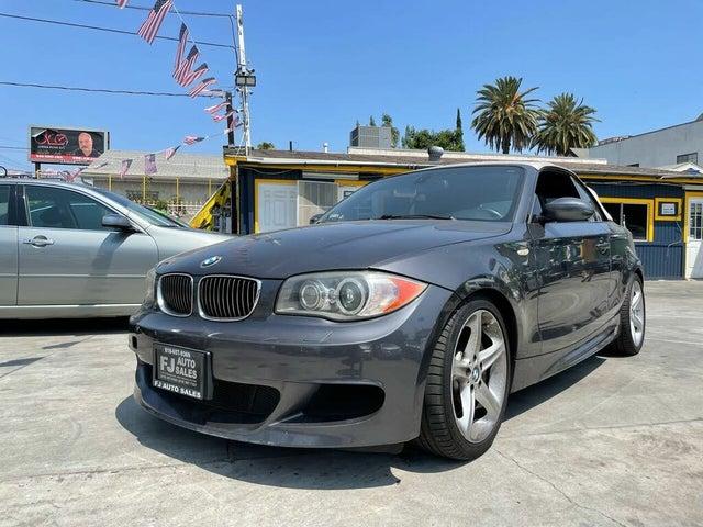 2008 BMW 1 Series 135i Convertible RWD